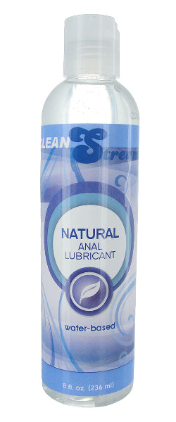 Anal Lubricant All Natural Water Based 8oz/236ml