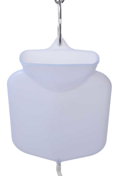 Silicone Open Flow Top Enema Bag System