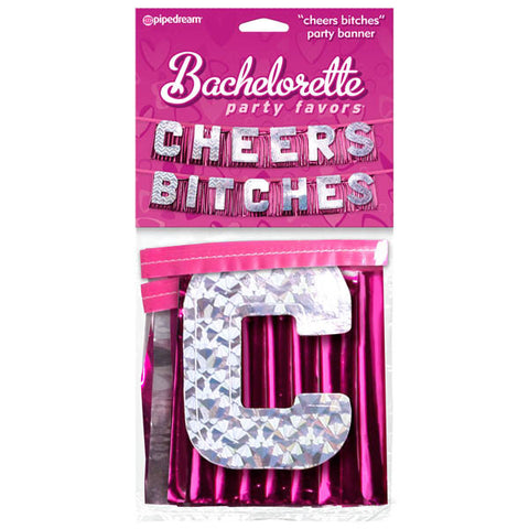 Bachelorette Party Favors ''cheers Bitches'' Party Banner
