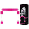 Bad Romance Pink Translucent Bondage Belt with Velcro
