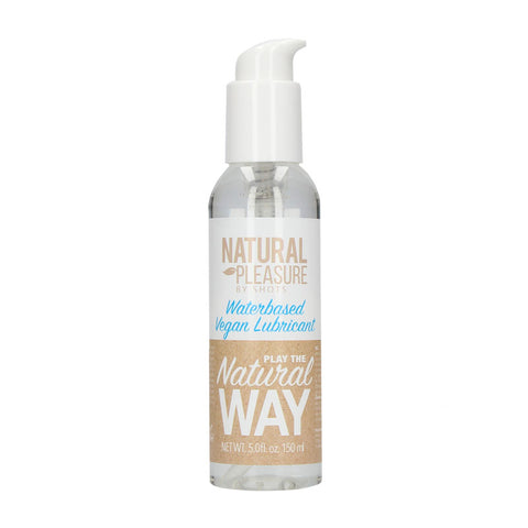 Natural Pleasure Waterbased Vegan Lubricant