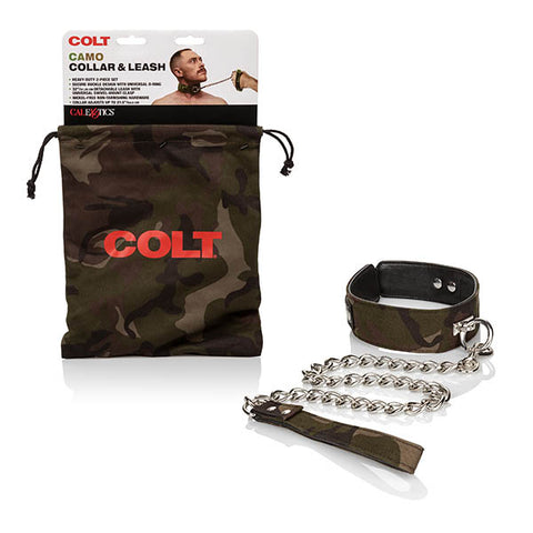 Colt Camo Collar & Leash
