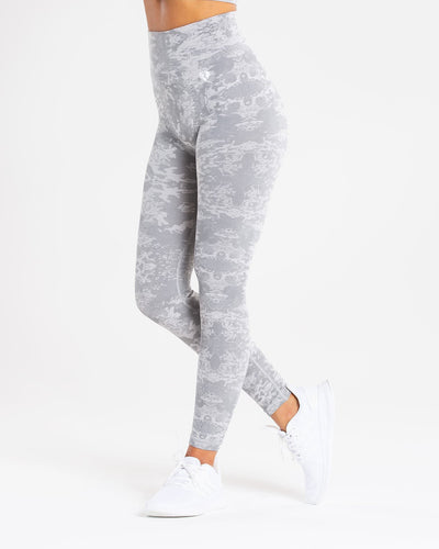 Camo Seamless Leggings | Grey