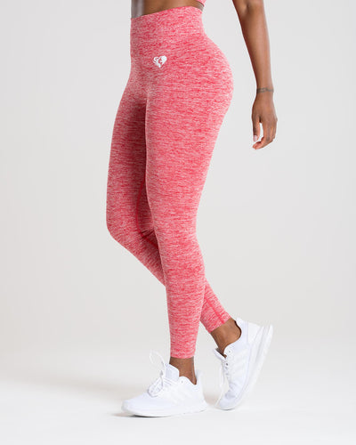 Move Seamless Leggings | Red Marl