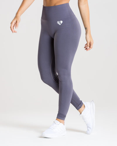 Power Seamless Leggings | Charcoal
