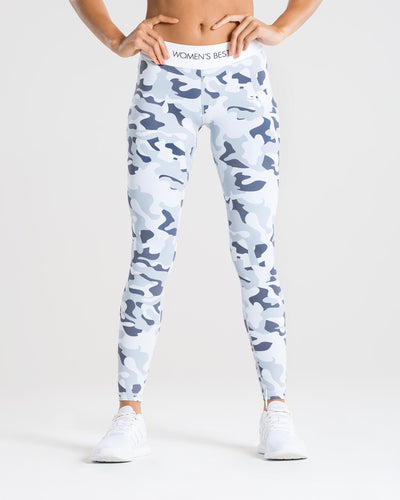 Sculpture Leggings | Camo/Grey
