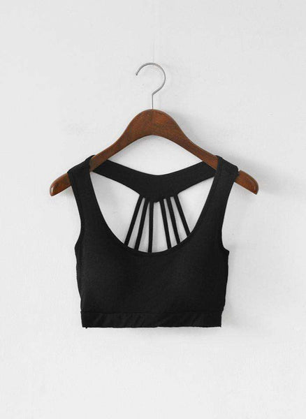 myyoga.love:Half Hollow Back Bralet,bralet