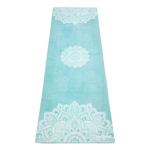myyoga.love:Mandala Turqoise Travel Mat 1mm,