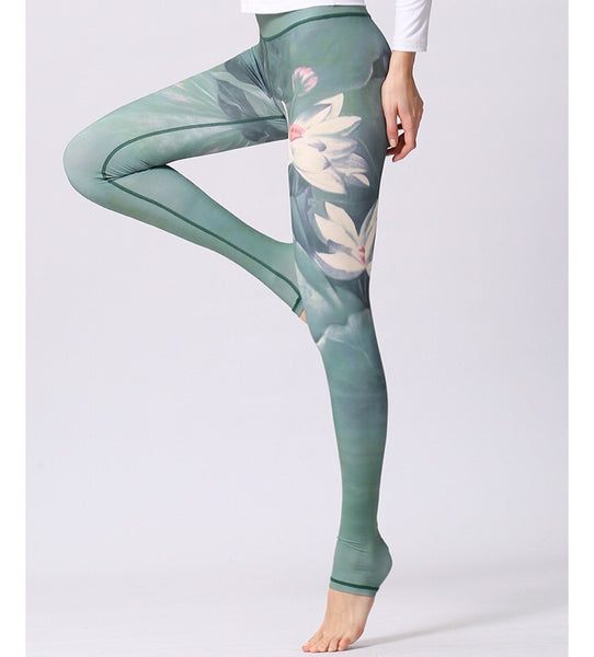 myyoga.love:Water Lilly Uzun Yoga,Pilates,Spor Tayt,tayt