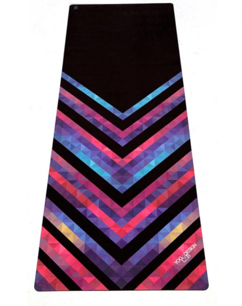 myyoga.love:Yoga Design Lab-Chevron Maya-Travel Mat-1mm,
