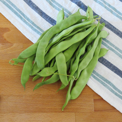 Beans, Heirloom Flat Podded, Organic, U.A.E. - 250Gr