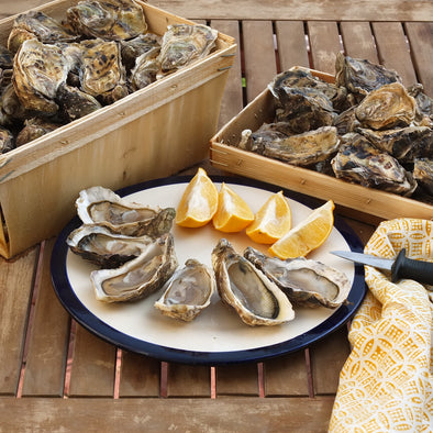 Deep Oyster Fine de Claire from Cancale (Brittany)