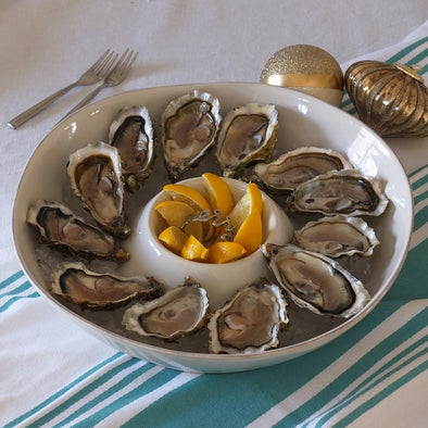 PRE-ORDER FOR 24.09 - Royal Oysters - Cupped from Marennes, France - 12 pieces