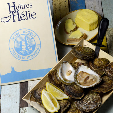 PRE-ORDER FOR 21.01- Flat oysters - Normandy, France