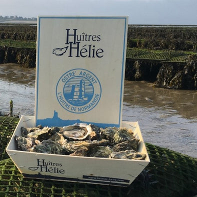 PRE-ORDER FOR 29.10 - Fine oysters - Normandy, France