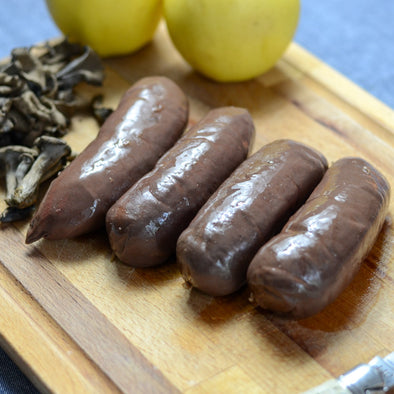 Black pudding with onions (non halal) - 4 pieces
