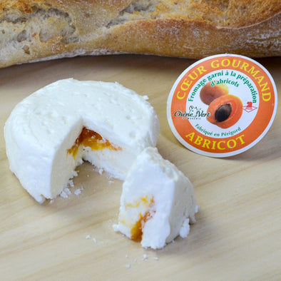 Goat cheese filled with apricot - 80Gr