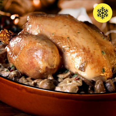 Free-range French capon, 150 days - from 2.4Kg