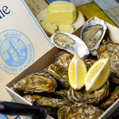 DELIVERY FROM THURSDAY! Fine oysters - Normandy, France