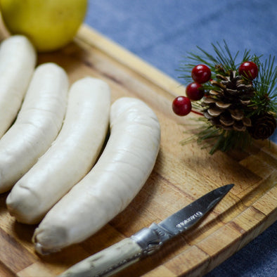 White Pudding with morels (non halal) - 4 pieces