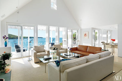 Skylights In Vaulted Ceilings Brighten The Living Room Of This Hugh Newell  Jacobsenu2013designed Residence. To Make Your Space Feel Roomier And Breezy, ...