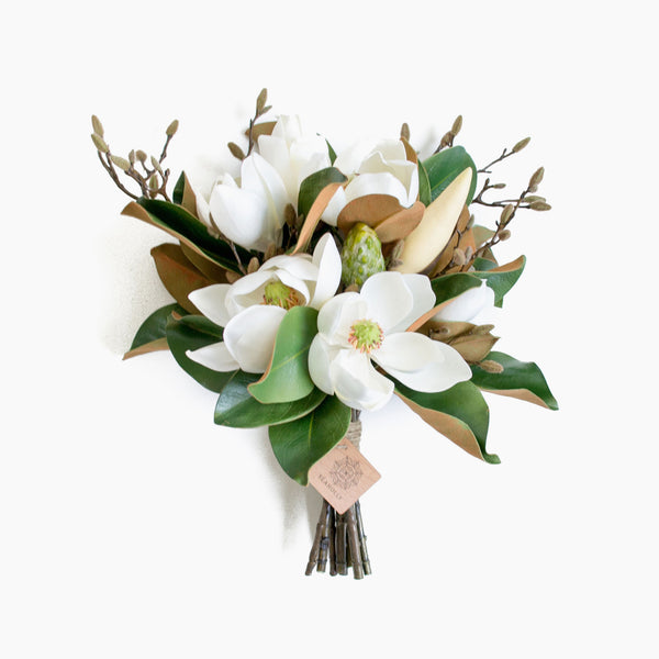 Artificial Magnolia And Budding Branch Bouquet And