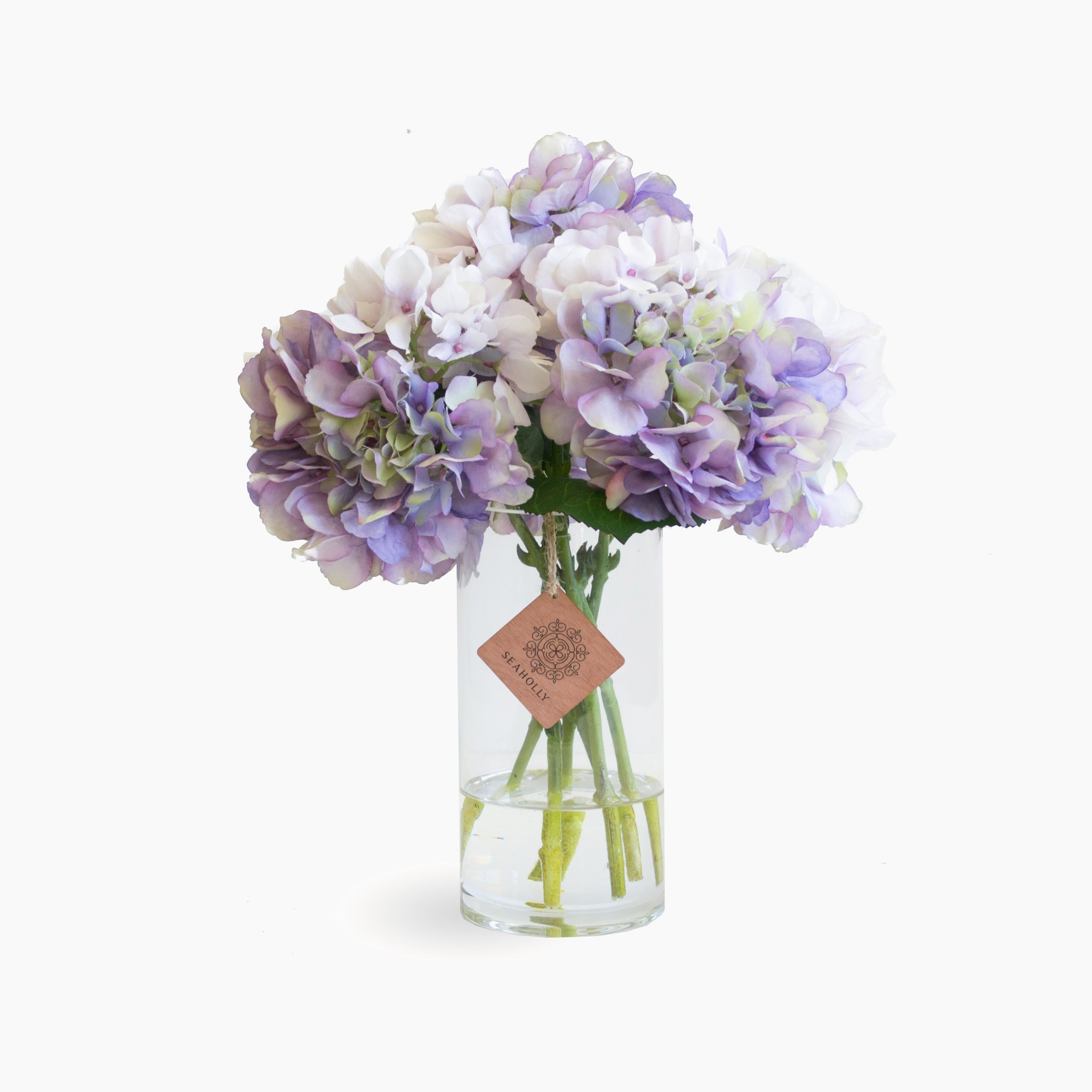 Lavender hydrangea arrangement (Medium)
