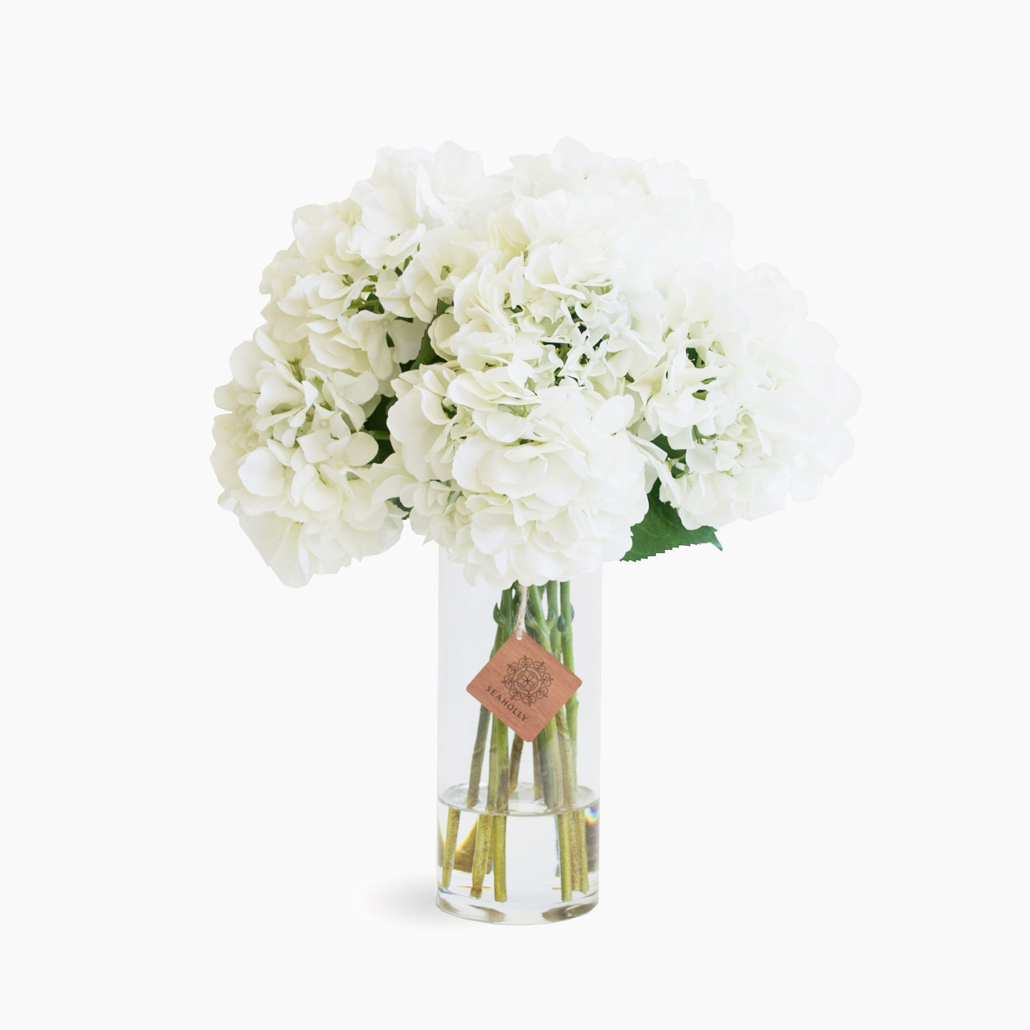 White hydrangea arrangement (Large)