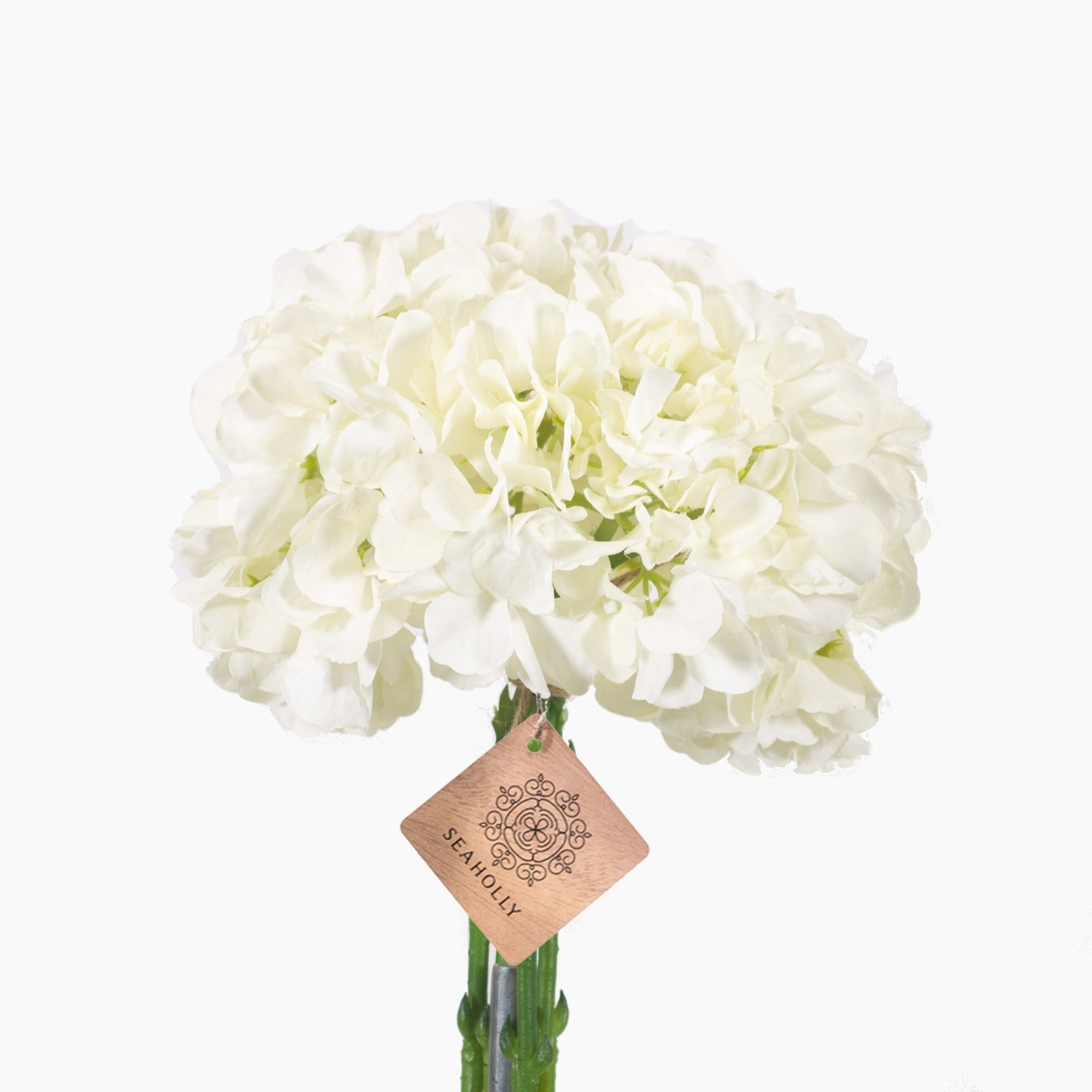 White hydrangea arrangement (small)
