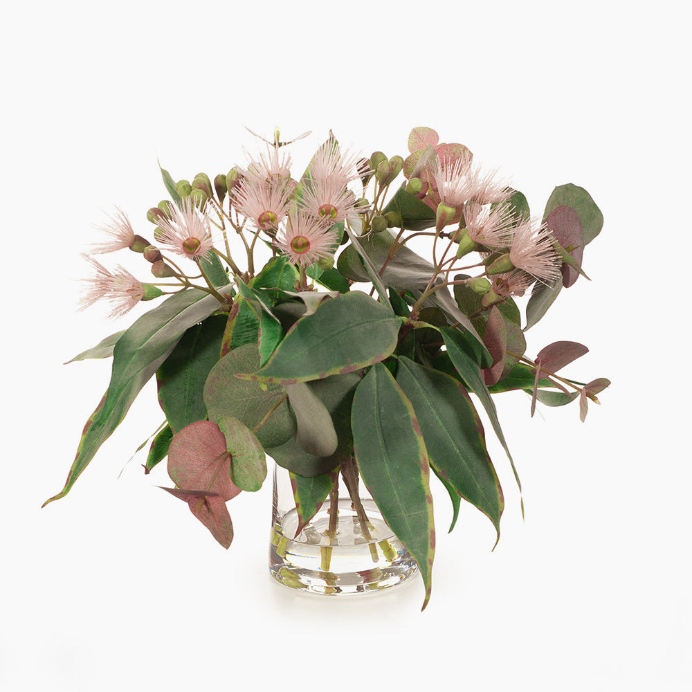 Flowering eucalyptus mix (pink)
