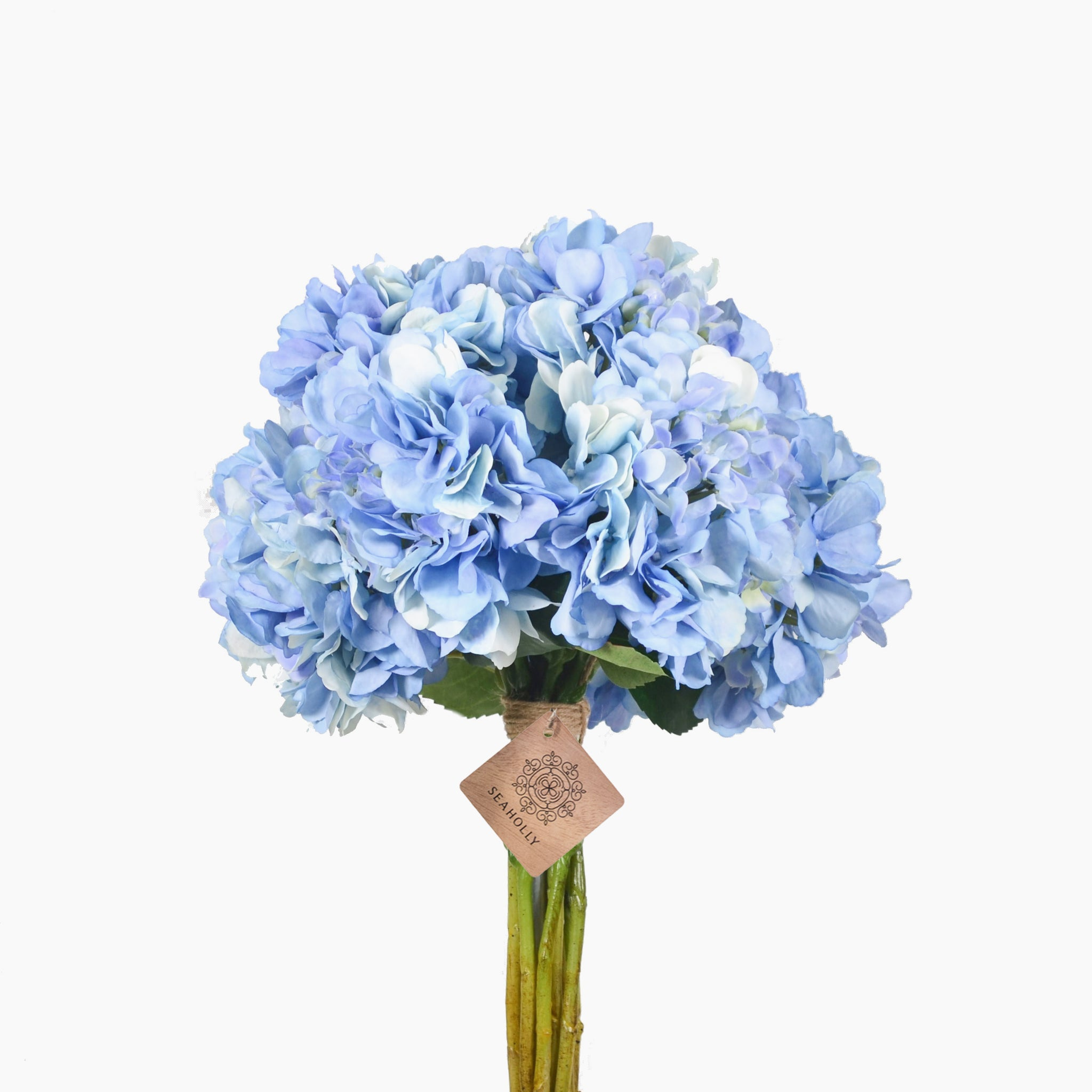 Blue hydrangea arrangement (Large)