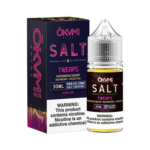 okami brand, okami brand salt twerps, The greatness of peach tea fused with the sour magic and invigorating taste of raspberry. Twerps will for sure blast your taste buds into the outer reach of the galaxy!