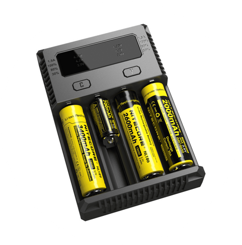 NITECORE - INTELLICHARGER NEW I4 (2016 Version) - VAPE MNL