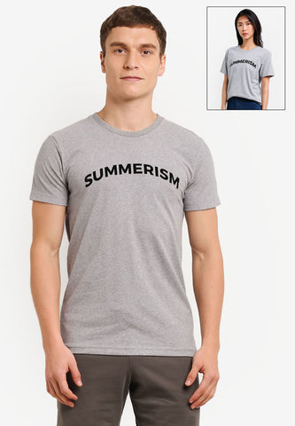 Summerism Typography - Summerism Brand Tee 100% Supersoft Cotton