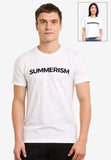Summerism Black typo - Summerism Brand Tee 100% Supersoft Cotton Unisex