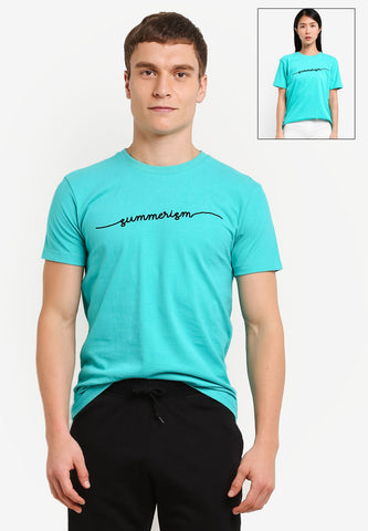 Summerism Minimalist Short Sleeved Tee - Mint