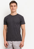 Summerism Supersoft Cotton Tshirt - Unisex Black Tee