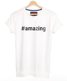 Custom Made Hashtag Your Word T Shirt
