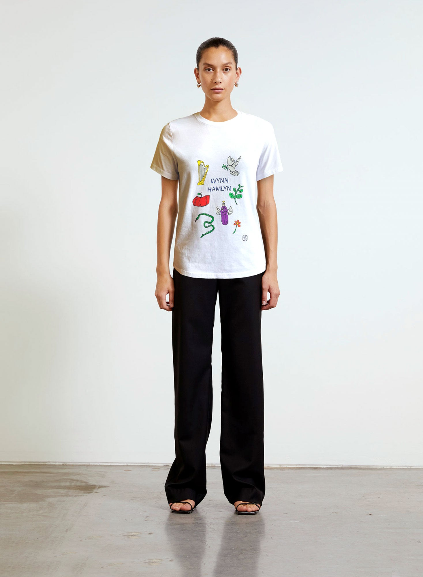 Mindful Fashion T Shirt - White