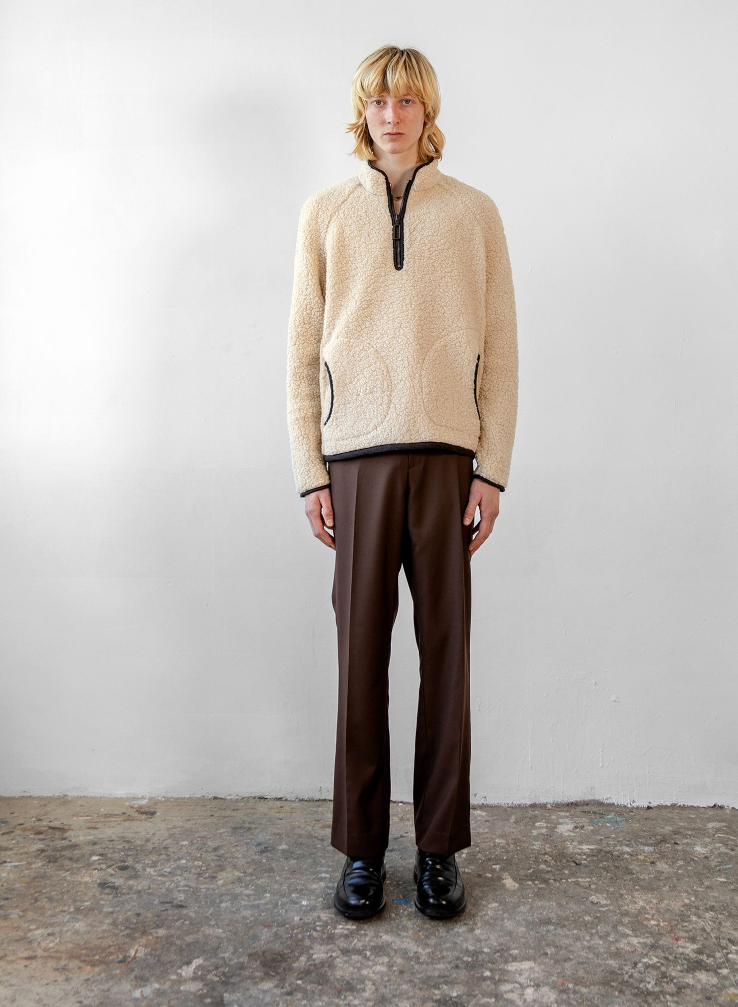 Fleece Jumper - Ivory