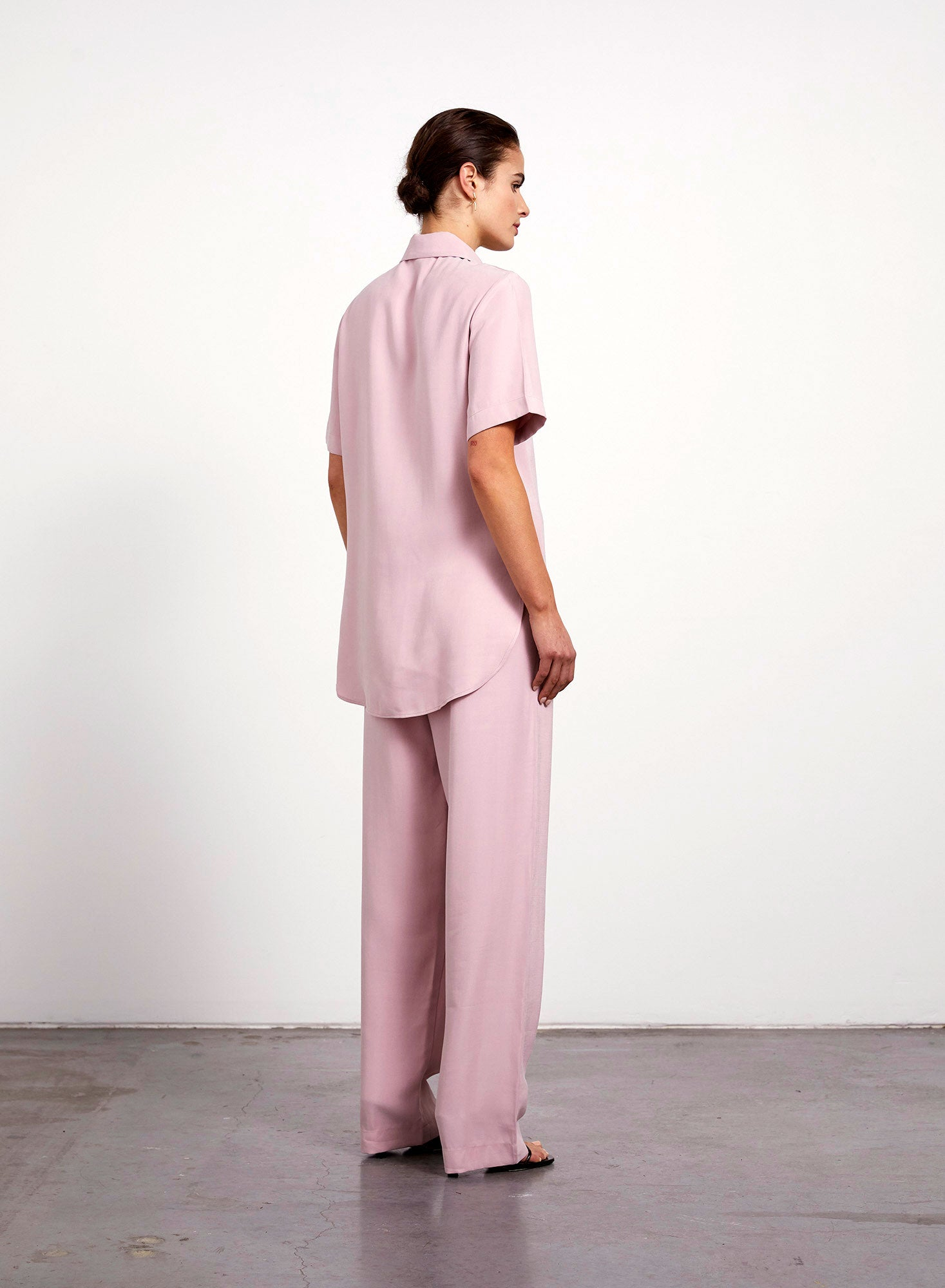 Welt Pocket Shirt - Blush