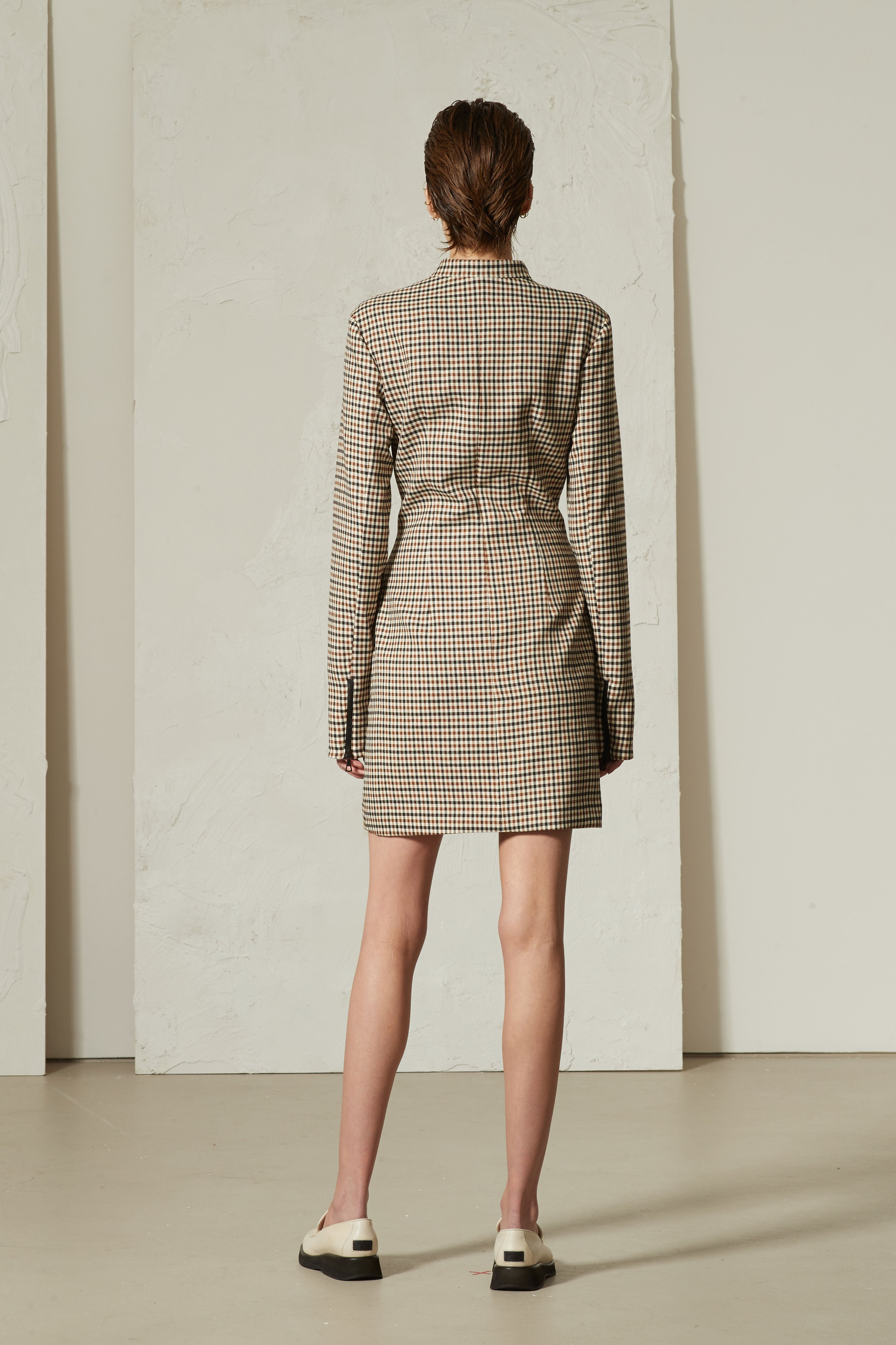 Panel Dress Check - Wynn Hamlyn — Shop