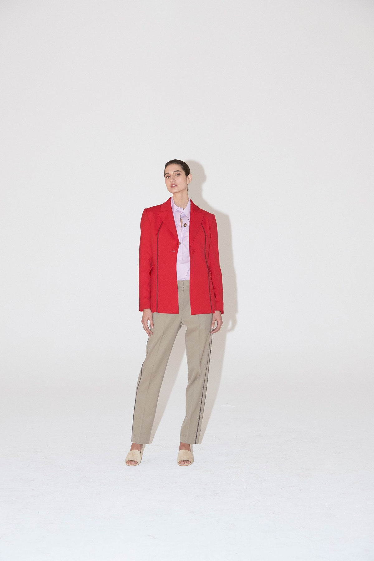Agent Blazer Red - Wynn Hamlyn — Shop