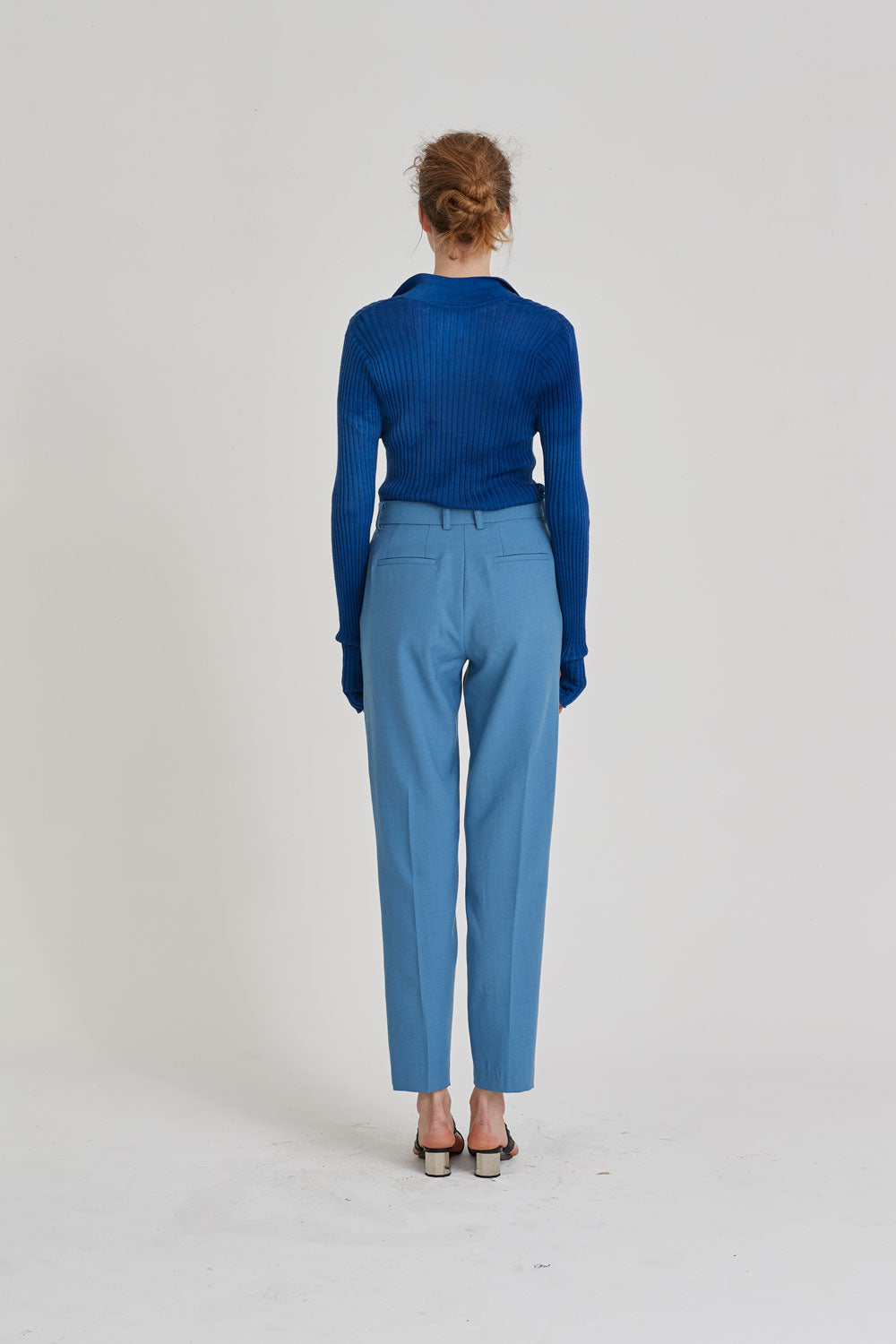 Partner Trouser Light Blue - Wynn Hamlyn — Shop