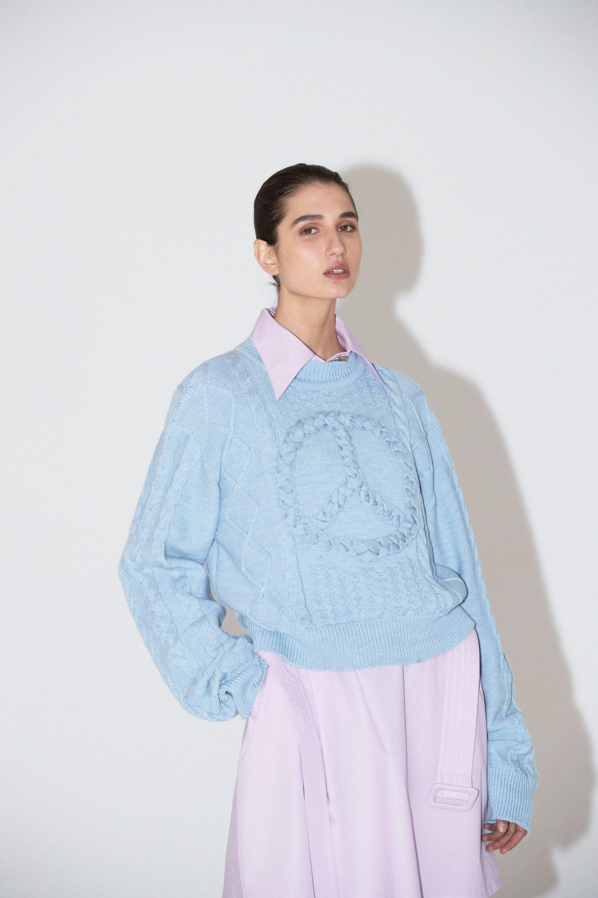 Peace Jumper Blue - Wynn Hamlyn — Shop