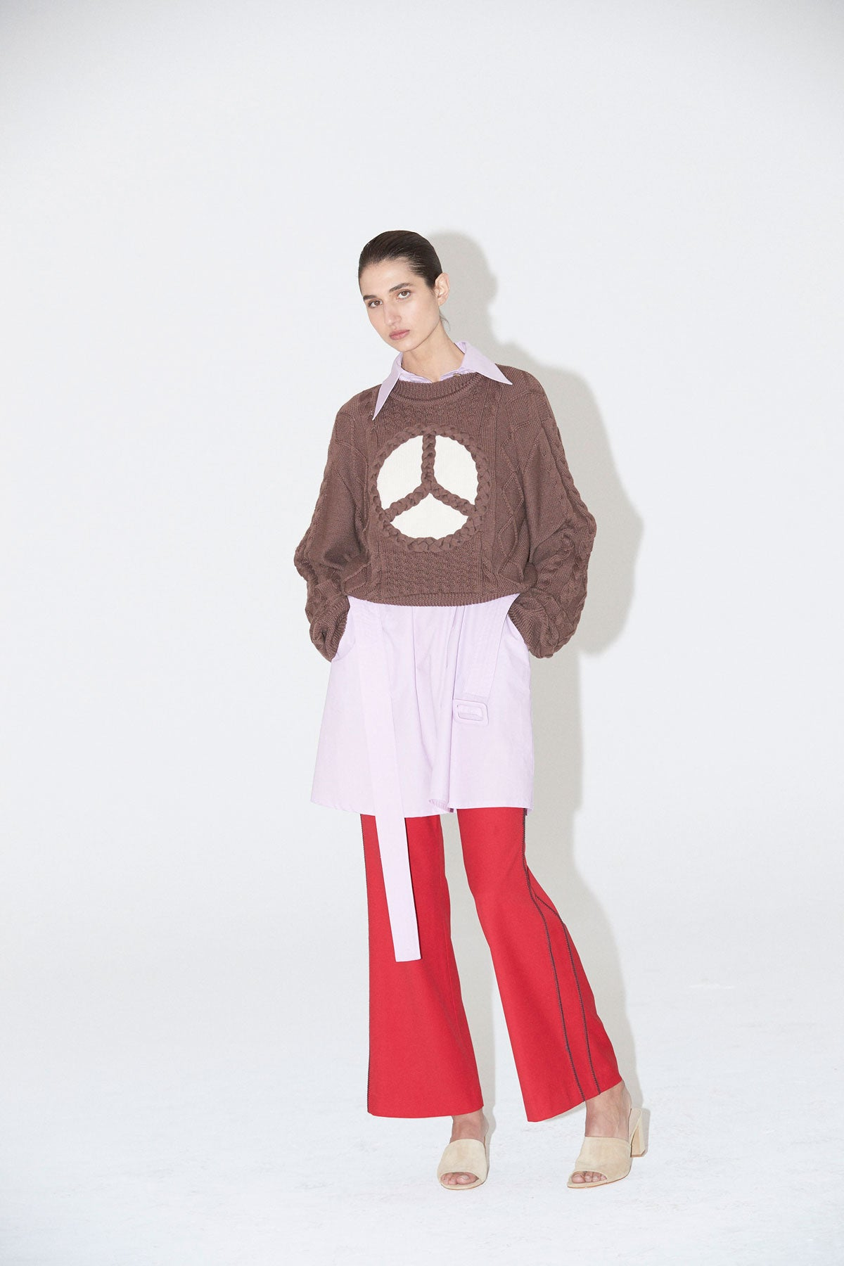 Peace Jumper Walnut - Wynn Hamlyn — Shop
