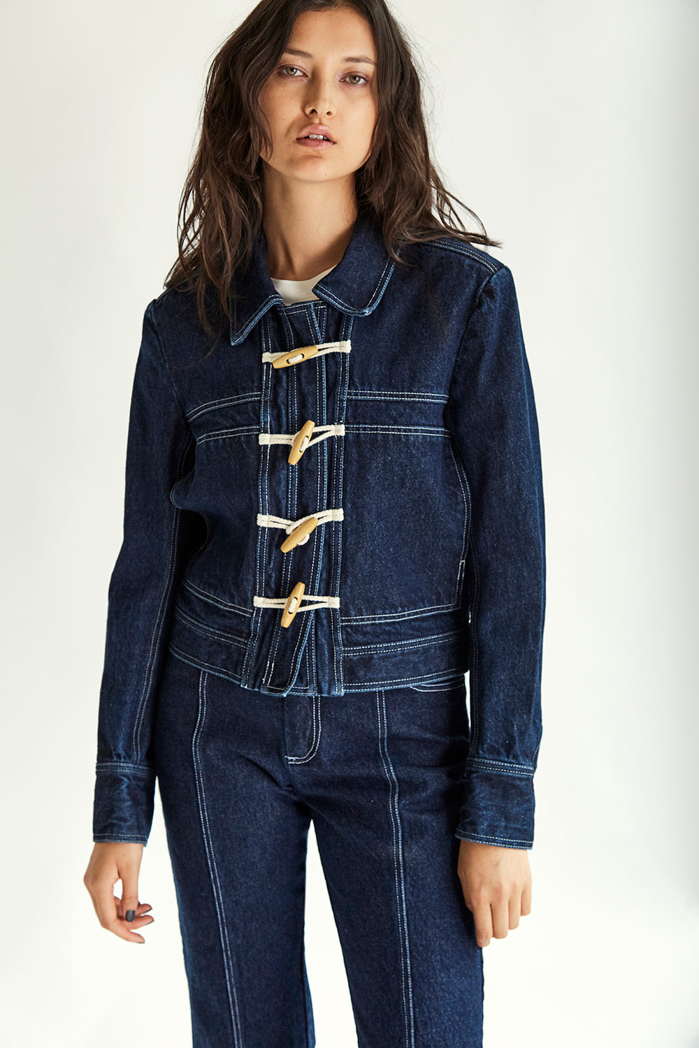 Clarke Denim Jacket - Indigo - Wynn Hamlyn — Shop