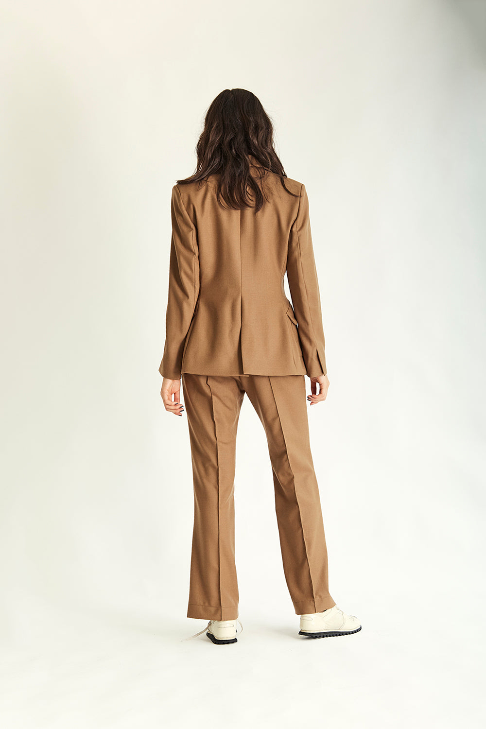 Clarke Toggle Blazer - Tan - Wynn Hamlyn — Shop