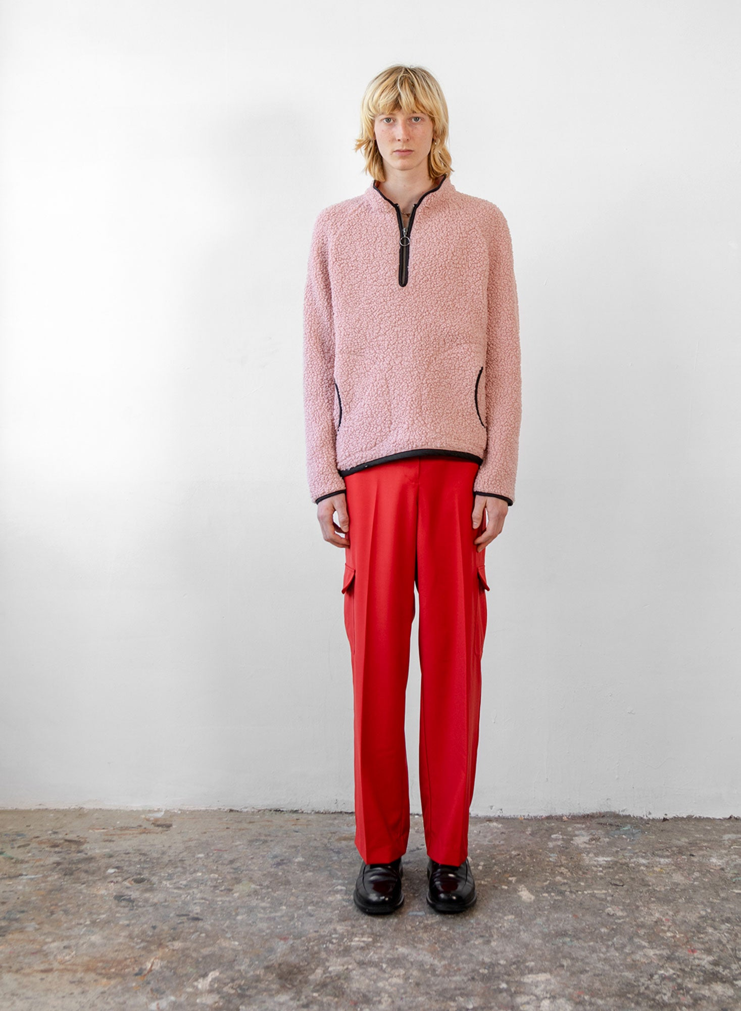 Fleece Jumper - Blush