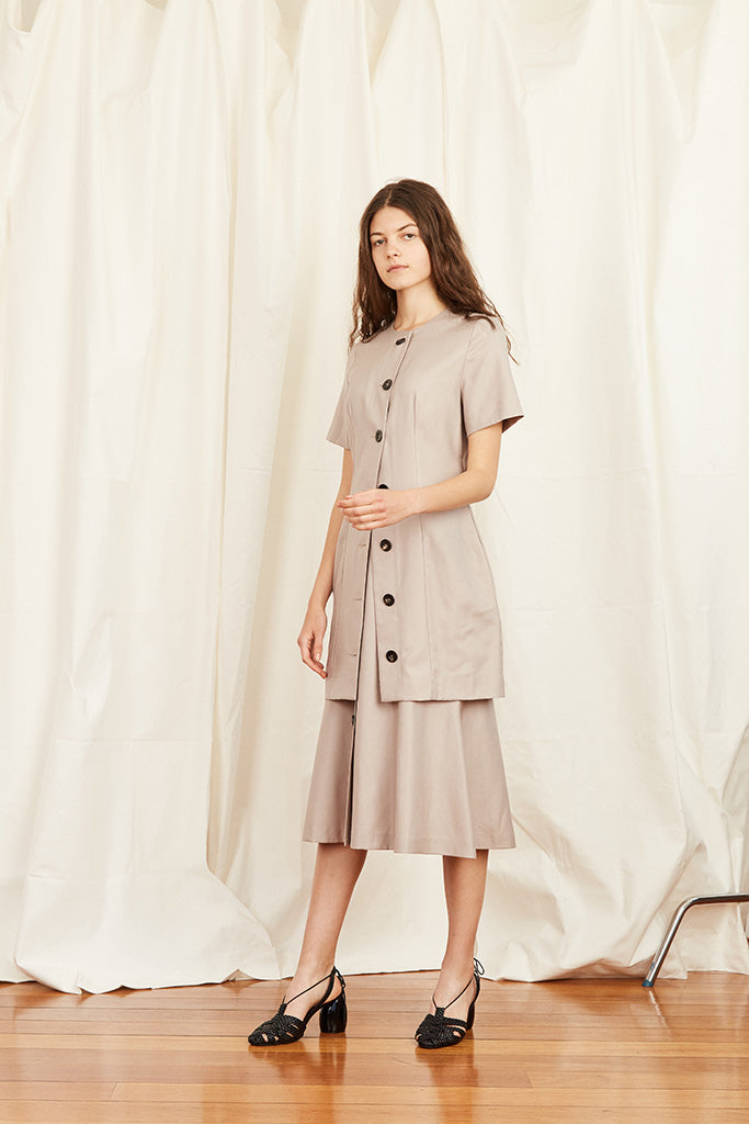 Glasgow Dress - Cobweb - Wynn Hamlyn — Shop